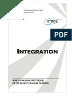 08 Indefinite & Definite Integration