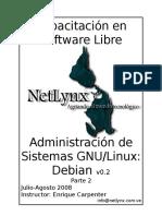 Netlynx Admin Linux Parte2 v0.2