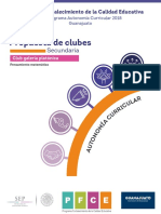 Secundaria Pfce 18 Club Ac Galería.platónica