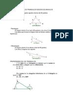 Clasificacion de Los Triangulos Según Sus Angulos