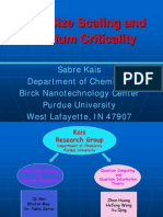 Finite Size Scaling and Quantum Criticality