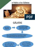 carta de Pablo a los Galatas