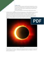 Por Qué Se Produce Un Eclipse Solar