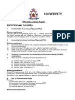 Prefessional Courses