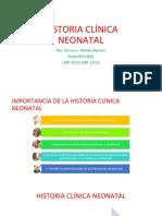 02 Historia Clínica Neonatal