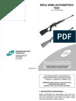 Manual Rifle Semiauto 7022