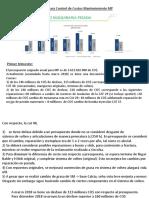 Plan de Acción Costos CECO MP