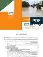 Santa Cruz, Plan Departamental de Contingencia Para Desastres Naturales