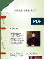 Felipe II Rey de España[1]