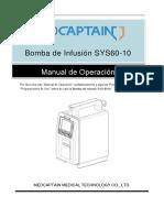 BOMBA DE INFUSION SYS-6010 Operación Instalación y Mantenimiento.pdf
