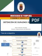 Presentacion Duraznos PLANTA