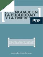 El Lenguaje en La Publicidad y La Empresa