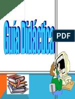 Elaboración de guía didáctica