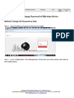 How to Change Password of Hikvision Device