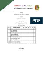 Informe de Practicas de Mecanica de Suelos - Calicata