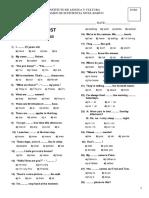 Placement Test a1a2 Grammar