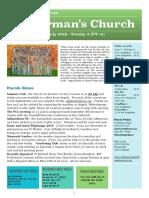 st germans newsletter - 7 july 2019 - trinity 3