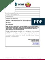 Qualifying Examination Policy