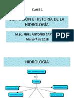 Clase 1 DEFINICIÓN E HISTORIA DE LA HIDROLOGÍA.pdf