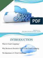 Presentation( Cloud Computing)