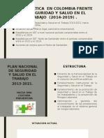 ANALISIS DE LA PROBLEMATICA DE SEGURIDAD Y SALUD EN EL TRABAJO EN COLOMBIA