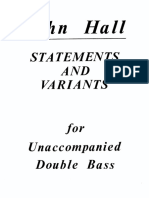 Hall - Statements and Variants