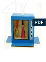 Televisor en Carton