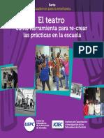 El teatro una herramienta para recrear las prácticas en la escuela