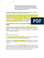 Ficha Lireon (2010). Dinámica Interna