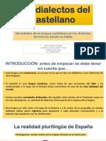 5.4 Los Dialectos Del Castellano