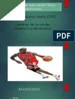 Baloncesto Amparo Sopo
