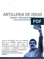 ARTILLERIA DE IDEAS 05JUl19