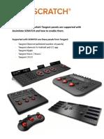 Tangent SCRATCH Setup Guide