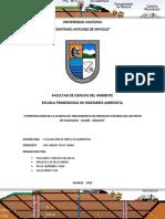 Construcción de La Planta de Tratamiento de Residuos Sólidos Del Distrito de Huacachi - Huari - Ancash