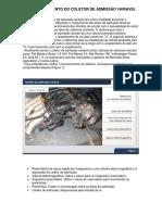 Funcionamento Coletor de admissão variável