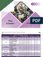 Plan Etudes Ingenieurs Mecatronique 2018
