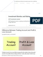 Difference Between Trading Account and Profit & Loss Account (With Comparison Chart) - Key Differences