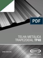 Catalogo Telha Metálica