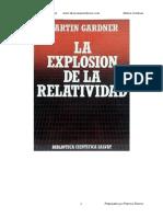 La Explosion de La Relatividad - Martin Gardner