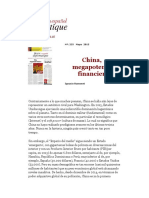 China, Megapotencia Financiera