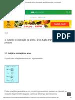 Adição e Subtração de Arcos_ Resolução de Equações e Inequações - UOL Educação