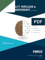 Fertilizer and Soil Amendments Handbook