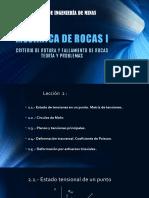 MECANICA de ROCAS__1Criterio de Fallamiento y Rotura en Rocas