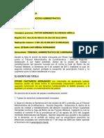 2011-01498 Consejo de Estado - Tutela Contra Sentencia Resumen