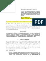T-125-12 Resumen de La Linea Jurisprudencial