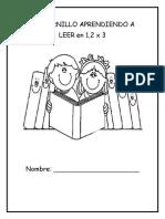 Cuadernillo aprendiendo a leer 123