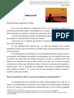 Textos para evaluar el Dominio Lector.