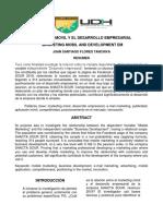 MARKETING MÓVIL Y EL DESARROLLO EMPRESARIAL