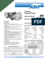 Cat Pump Model 45.pdf