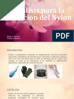 Catálisis Para La Obtención Del Nylon